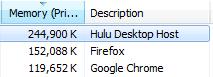 Hulu Desktop Screenshot